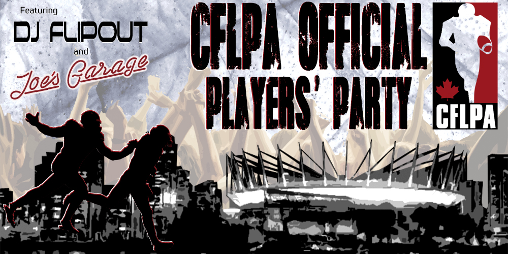 Official Players Party Logo CFLPA SITE BANNER