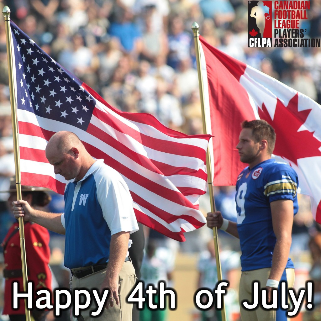 We want to wish a very Happy 4th of July to all of our American players, coaches, friends, family, and otherwise!