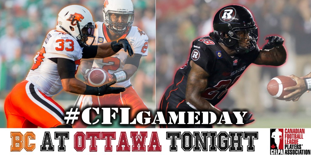 The BC Lions are in the Capital to take on the Ottawa REDBLACKS tonight at 6PM on TSN!